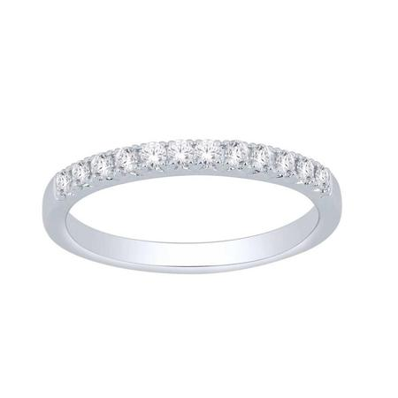 10K 0.25CTW Diamond Band- 12 Stone