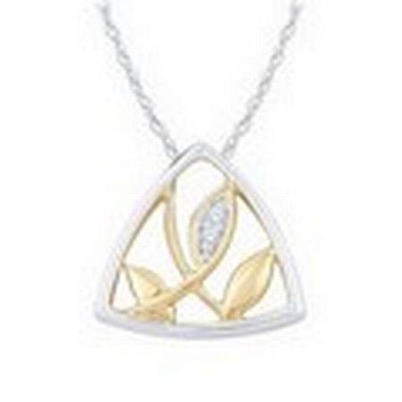 Leaf Diamond Pendant