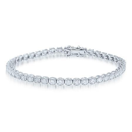 2.00CTW Diamond Tennis Bracelet