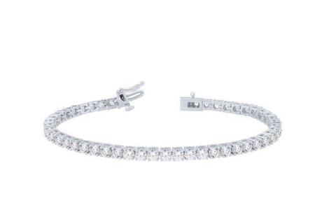 4.00CTW Diamond Tennis Bracelet
