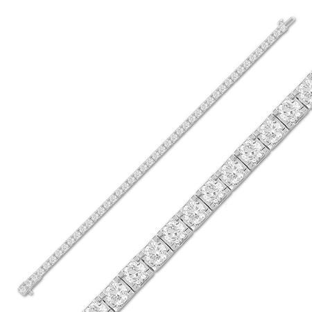 7.00CTW Diamond Tennis Bracelet