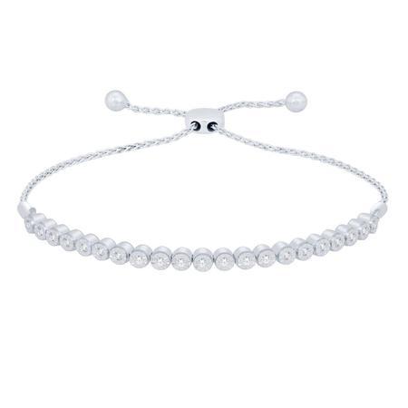 0.33CTW Diamond BOLO Bracelet