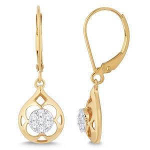 Diamond Negative Space Earrings