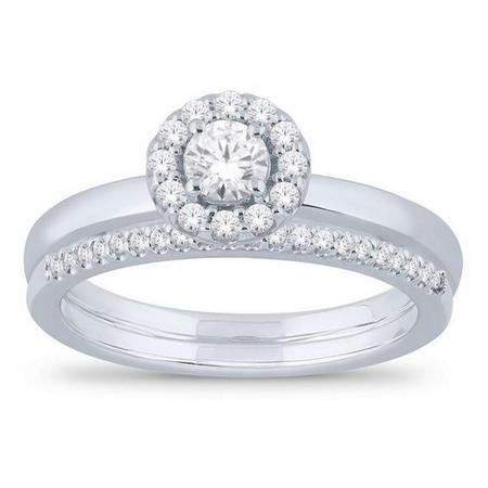 Round Shaped Bridal Set
