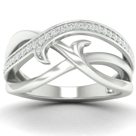 Diamond Antler Ring