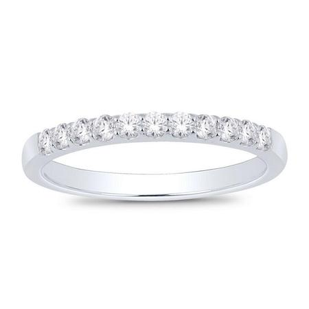 14K 0.33CTW Diamond Band- 11 Stone